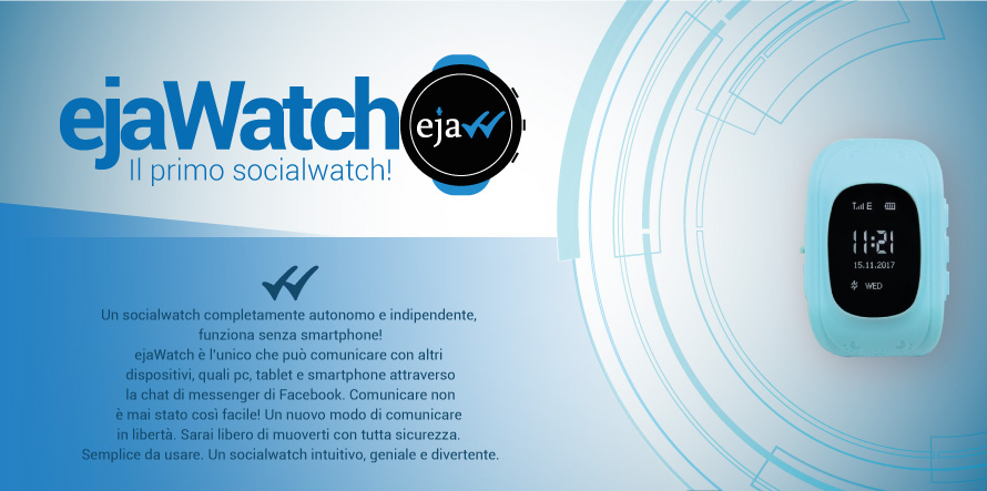 ejaWatch - il primo social watch